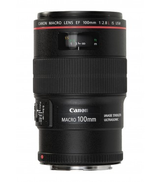 Objetiva Canon EOS EF 100mm F2.8 L IS USM Macro