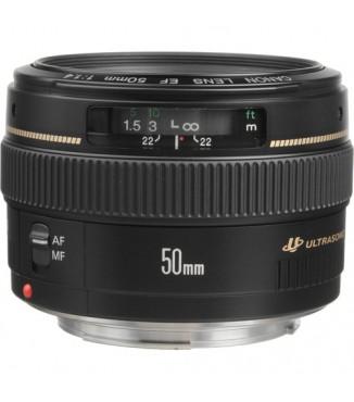 Objetiva Canon EOS EF 50mm F1.1.4 USM