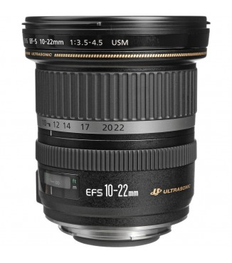 Objetiva Canon EOS EF-S 10-22mm F3.5-4.5 USM