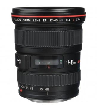 Objetiva Canon EOS EF 17-40mm F4.0 L USM