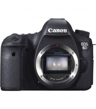Camera Canon EOS 6D - Corpo - Full Frame 20 Megapixels