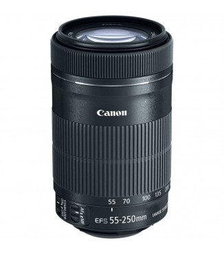 Objetiva Canon EOS EF-S 55-250mm F4.0-5.6 IS STM