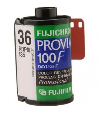 Filme FujiFilm 35mm FujiChrome Professional RDP III Provia 100F 36 Poses - ISO 100