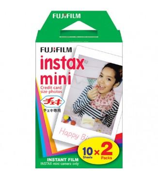 Filme FujiFilm Instantâneo Instax Mini - 20 Fotos