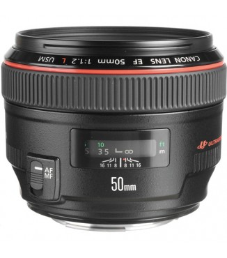 Objetiva Canon EOS EF 50mm F1.1.2 L USM