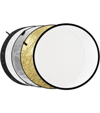 Rebatedor Circular Dobrável Greika 5x1 - 110cm