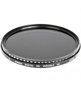 Filtro de Densidade Neutra Variável Bower 67mm