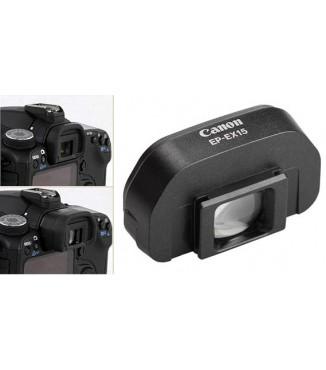 Extensor de Ocular Canon EP-EX15ll p/ EOS 40D, 50D, 60D, 70D, 5D, Rebel SL1, SL2, XS, XSi, XT, T1i, T2i, T3, T3i, T4i, T5, T5i, T6i, T6s, T7i