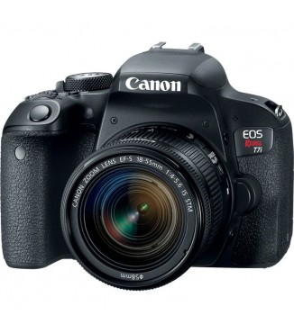 Camera Canon EOS Rebel T7i com Objetiva EF-S 18-55mm F3.5-5.6 IS STM - 24.2 Megapixels