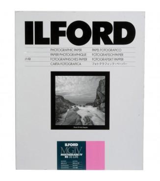 Papel Fotográfico Ilford Preto e Branco MultiGrade IV RC 17.8 x 24cm Brilhante - 25 Folhas