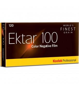 Filme Kodak 120 Professional Ektar 100 Colorido ISO 100 - Pack com 5 Unidades