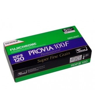Filme FujiFilm 120 FujiChrome Professional RDP III Provia 100F Pack com 5 unidades - ISO 100