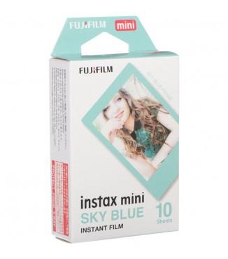 Filme FujiFilm Instantâneo Instax Mini Sky Blue - 10 Fotos