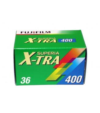 Filme FujiFilm Superia X-Tra 400 Colorido 36 poses ISO 400 - Pack com 5 Unidades