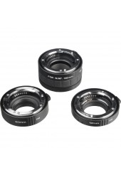 Kit com 3 Tubos de Extensão Kenko DG para Objetivas Nikon