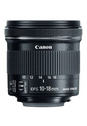 Objetiva Canon EOS EF-S 10-18mm F4.5-5.6 IS STM