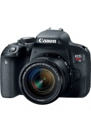 Camera Canon EOS Rebel T7i com Objetiva EF-S 18-55mm F3.5-5.6 IS STM - 24.2 Megapixels