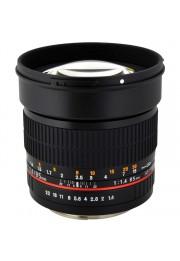 Objetiva Rokinon 85mm F1.4 AS IF UMC para Canon