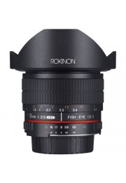 Objetiva Rokinon Ultra Grande Angular 8mm F3.5 HD Diagonal Fisheye para Nikon