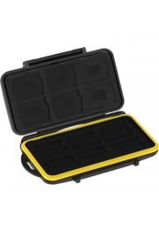 Hard Case Ruggard para 12 SD + 12 microSD Resistente a Agua