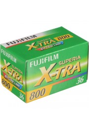 Filme FujiFilm Superia X-Tra 800 Colorido 36 poses ISO 800