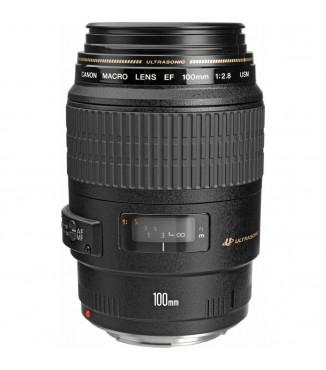 Objetiva Canon EOS EF 100mm F2.8 USM Macro