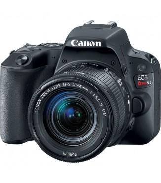 Câmera Canon EOS SL2 com 18-55mm F4.0-5.6 IS STM