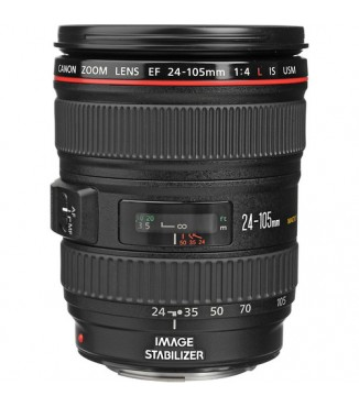 Objetiva Canon EOS EF 24-105mm F4.0 L IS USM