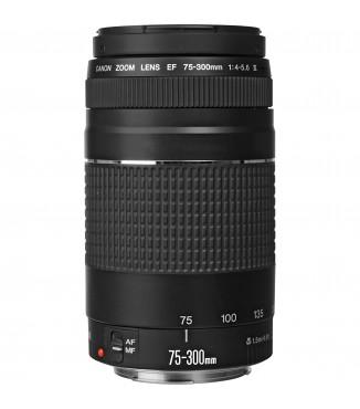Objetiva Canon EOS EF 75-300mm F4.0-5.6 III