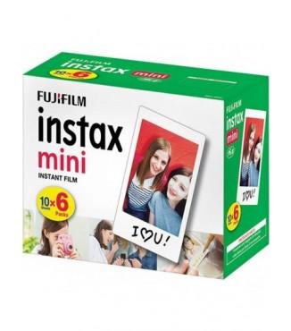Filme FujiFilm Instantâneo Instax Mini - 60 Fotos