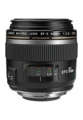 Objetiva Canon EOS EF-S 60mm F2.8 USM Macro